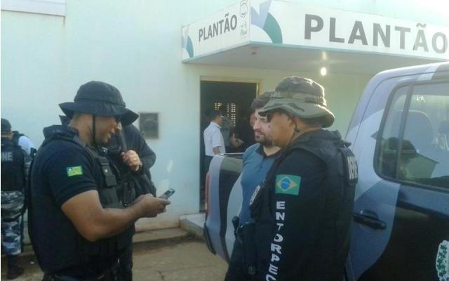 Ação policial em José de Freitas (Crédito: JF Agora)