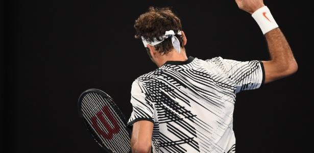 Roger Federer (Crédito: AFP)