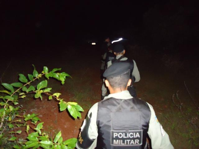 Polícia se desloca até o local da agressão
