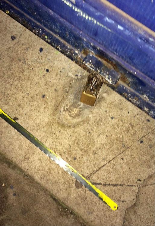Serra utilizada no crime (Crédito: Reprodução)