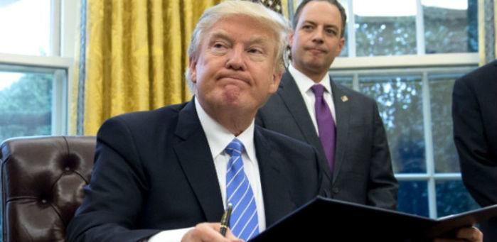 Donald Trump presidente dos EUA