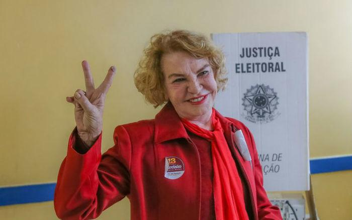 A ex-primeira dama continua internada na UTI do Sírio-Libânes