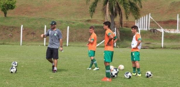 Treino da Chapecoense para a Copa São Paulo de Juniores (Crédito: Reprodução)