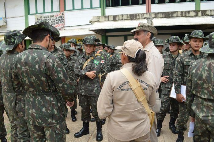 Cerca de 100 militares foram treinado para poderem atuar no combate ao mosquito Aedes.