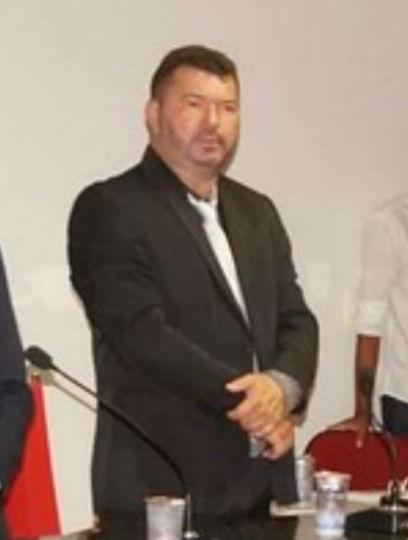 Vereador eleito Paulo José Sarmento na cerimônia de posse