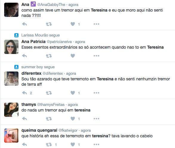 Usuários relatam tremor no Twitter (Crédito: Reprodução)