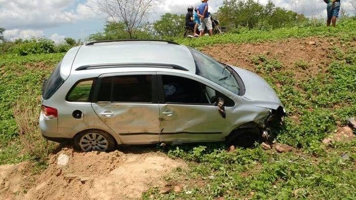 Colisão entre carro e moto deixou um morto  (Crédito: Piauí em Foco)