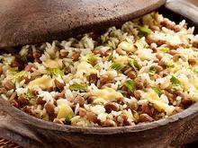 Um, dois: feijão com arroz
