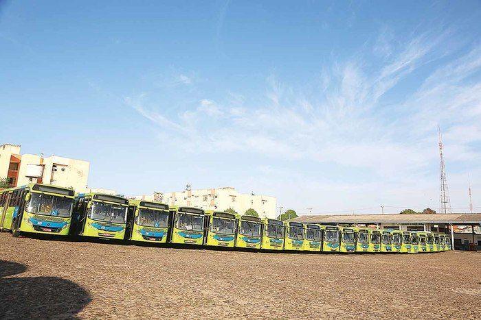 TRT manda suspender greve dos ônibus e determina reajuste  (Crédito: Efrém Ribeiro)