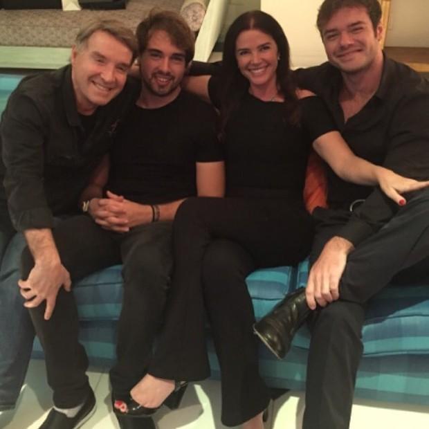 Eike Batista, Olin, Luma de Oliveira e Thor