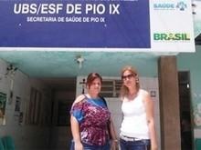 Pio IX recebe duas profissionais cubanas do Programa Mais Médicos
