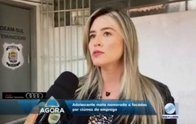 Delegada Anamelka Cadena (Crédito: Rede Meio Norte)