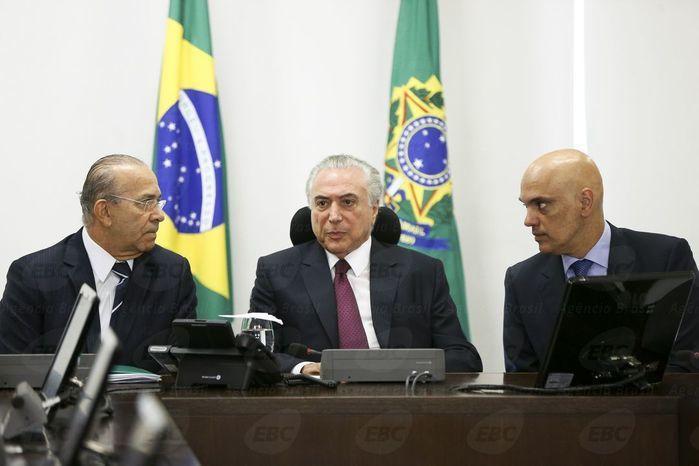Michel Temer fala sobre massacre em Manaus