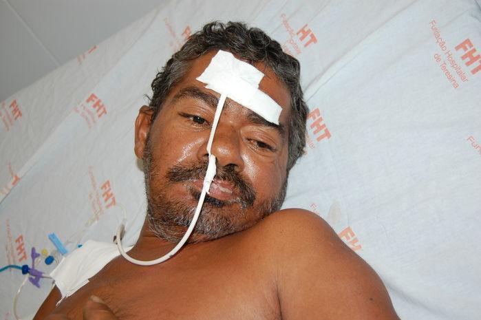 Paciente está internado na Clínica Médica
