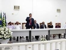 Prefeito, vice e vereadores tomam posse em Francinópolis