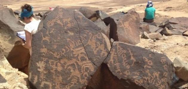 Inscrições apontam vida no deserto da Jordânia
