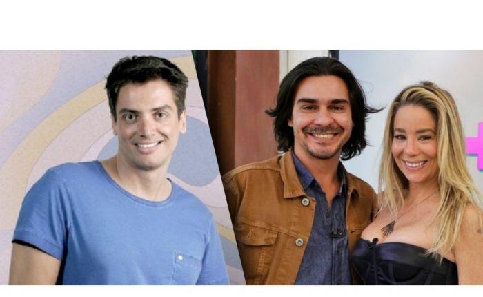 Barraco entre Léo Dias, André Gonçalves e Dani Winits
