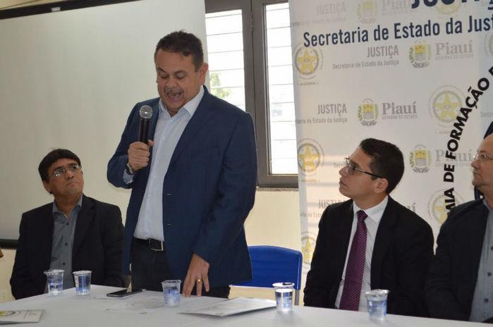 Silas Freire participou de Seminário na Acadepen