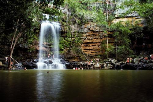 Cachoeira do Salto Liso (Crédito: Divulgação)