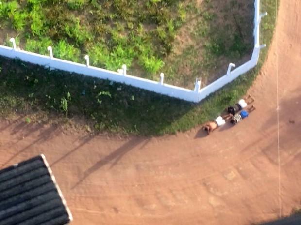 Fugitivos são recapturados em Natal (Crédito: Divulgação)