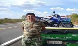 GPM de Ipiranga Efetua Prisão de Acusado de Furto de Motocicleta