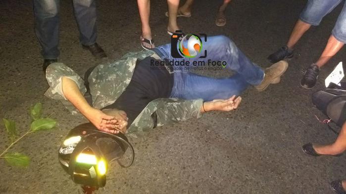 Homem fica ferido após colidir em ônibus no interior do Piauí