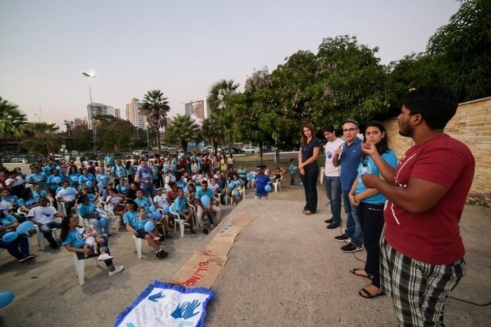 I Caminhada do Orgulho Surdo aborda inclusão e conscientização (Crédito: Rômulo Piauilino)