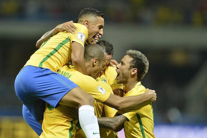 Brasil vence o Chile por 3 a 0 (Crédito: AFP)