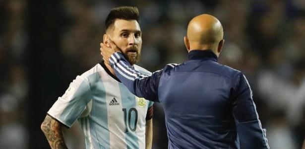 A Argentina decide uma vaga na Copa do Mundo contra o Equador (Crédito: AP)