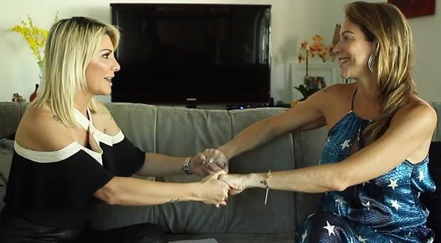 Luana Piovani solta o verbo em entrevista para Antônia Fontenelle