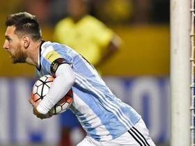 Com gols de Messi, Argentina vence Equador e está na Copa de 2018