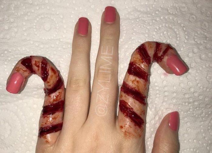 """""""Dedos de bengalinha de açúcar"""" são a nova moda para o Halloween"""