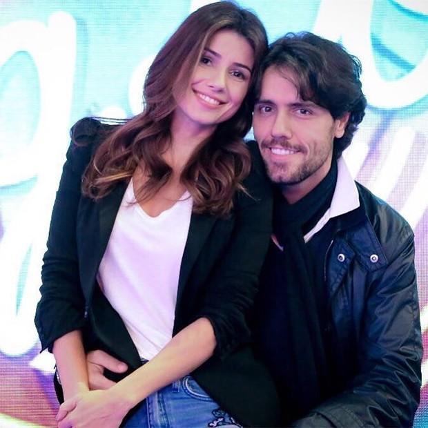 Paula Fernandes e o namorado Thiago Arancam (Crédito: Reprodução/ Instagram )