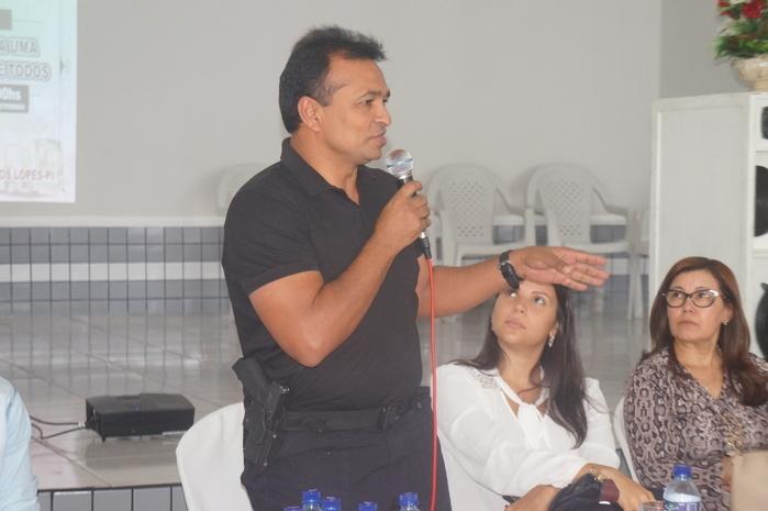 Secretário de Segurança Pública do Piauí, Deputado Fábio Abreu (Crédito: Francisco Anjos)