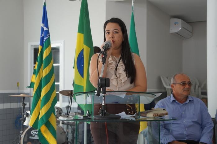 Presidente da Câmara Jaqueline Brito (Crédito: Francisco Anjos)