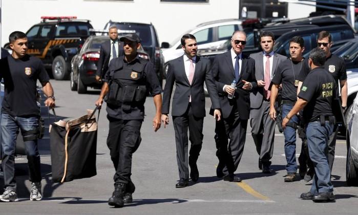 Carlos Arthur Nuzman foi preso na semana passada pela Polícia Federal (Crédito: O Globo)