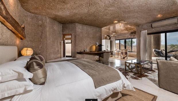 Hotel luxuoso da lua de mel de Marina e Xande