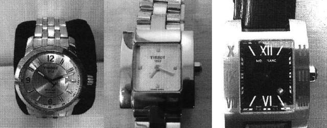 Relógios de luxo de ex-assesores de Cabral (Crédito: Polícia Federal/MPF)