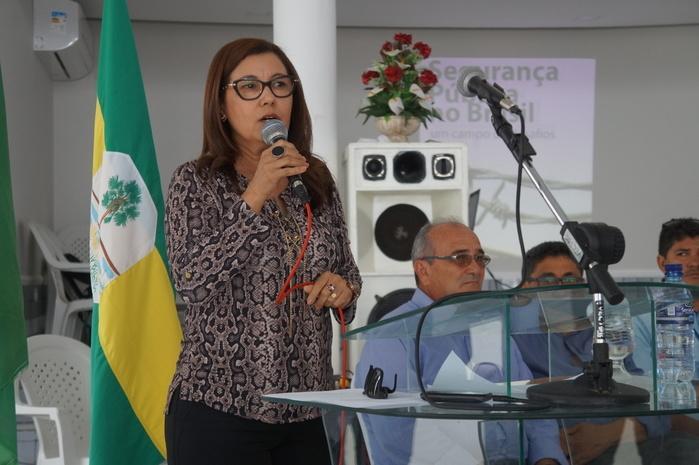 Promotora de Justiça, Francineide Sousa Silva (Crédito: Francisco Anjos)