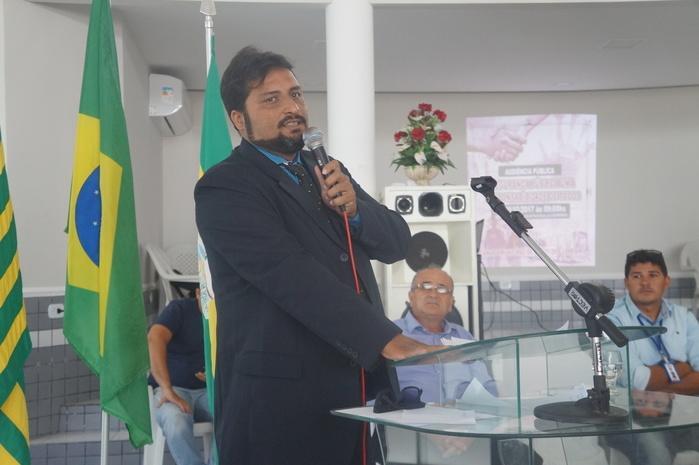 o advogado da Câmara de Buriti dos Lopes, Dr. Tony Farias