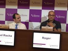 Médico afirma que tumor retirado do atacante Roger era benigno