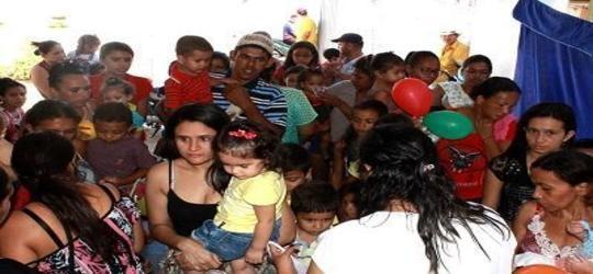 Crianças recebem homenagem no ESF do Bairro Mutirão