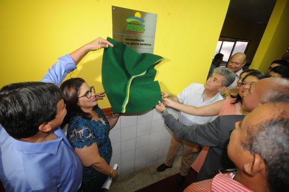 Inauguração da Creche Zezita Barbosa, em Altos (Crédito: Francisco Gilásio)