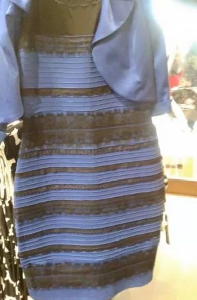 Imagem do vestido viralizou na internet (Crédito: Reproduçao )