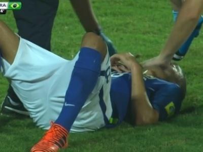 Meia do Corinthians sofre concussão cerebral em partida da seleção