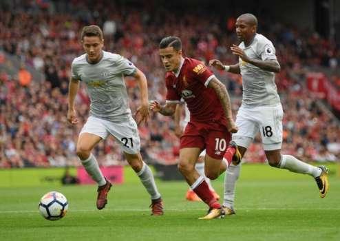 Manchester United empata com o Liverpool pelo Campeonato Inglês (Crédito: Twitter oficial do Liverpool)