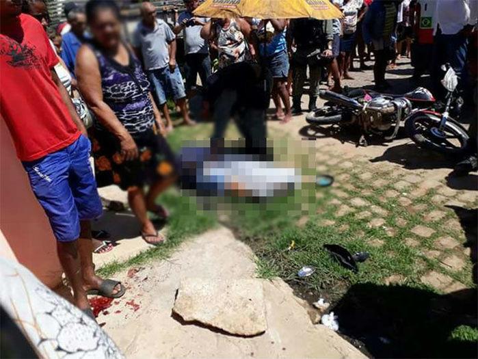 Acidente foi registrado em São João do Piauí (Crédito: Policia Militar)