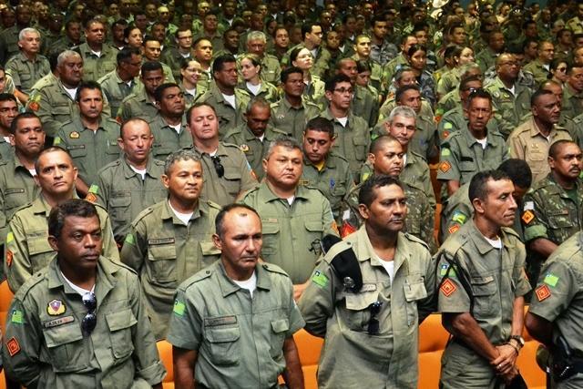 Polícia Militar do Piauí forma 500 novos sargentos (Crédito: Divulgação)
