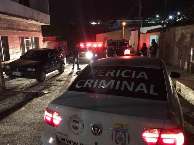 Local onde o adolescente foi morto ao tentar assaltar um policial (Crédito:  Patrick Marques/G1 AM)