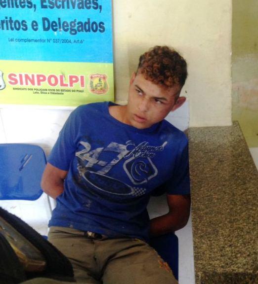 Polícia prende suspeito de realizar vários assaltos em Luís Correia